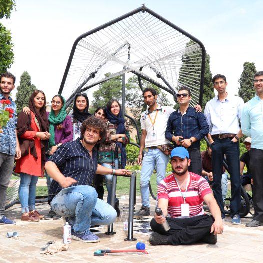 کسب مقام دوم در نخستین فستیوال معمار شیراز (باغ جهان نما)