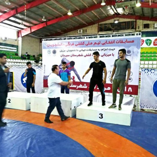 کسب مقام سوم در مسابقات انتخابی دانشجویان برزیل
