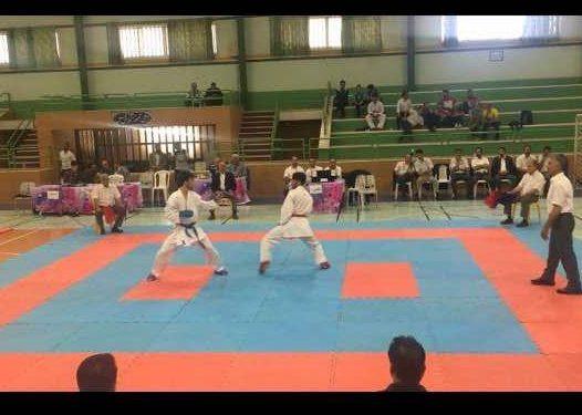 کسب مدال نقره مسابقات کاراته منطقه 7